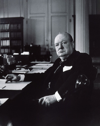 Winston Churchill by Frederiksborg