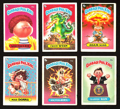 Garbage Pail Kids (monkeymillions) Tags: remember stickers oldschool backintheday garbagepailkids