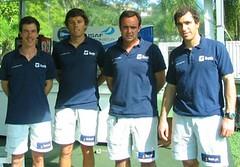 A partir da esquerda, Álvaro Marinho, Luiz Brito, Diogo Barros e Antonio Fontes - Foto: Silvana Carra da Rocha