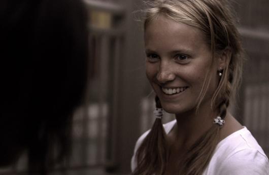 Charlotte Legault en 'Derrière moi', de Rafaël Ouellet