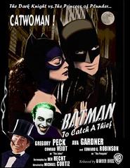 BATMAN : ALL STAR CAST FROM THE 1940'S (DarkJediKnight) Tags: poster penguin batman joker dccomics superheroes catwoman warnerbros gregorypeck gothamcity avagardner conradveidt edwardgrobinson