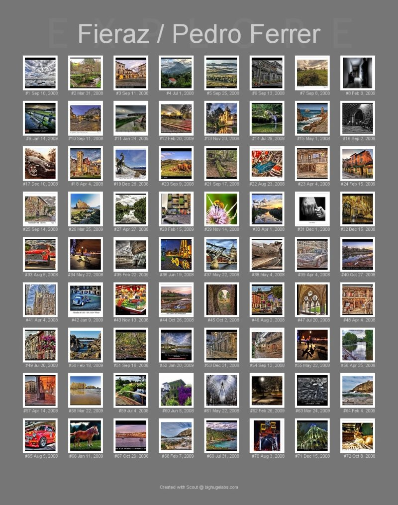 Mis fotos más interesantes según flickr
