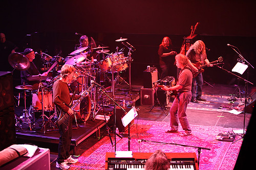 The Dead: Bob Weir, Phil Lesh, Mickey Hart, Bill Kreutzmann, Warren Haynes, Jeff Chimenti -- 3/30/09 Roseland Ballroom, NYC
