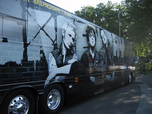 Green Day Tour Bus