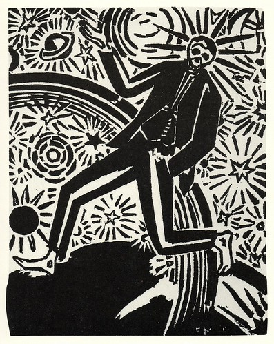 Graphic Novel illustration by Frans Masereel