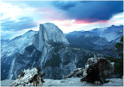 glacier point, yosemite, sunrise