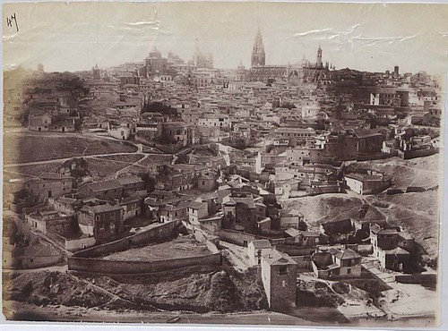 Vista de Toledo en 1883. Fotografía de Alfred Dismorr. The National Archives, Kew, Richmond, Surrey