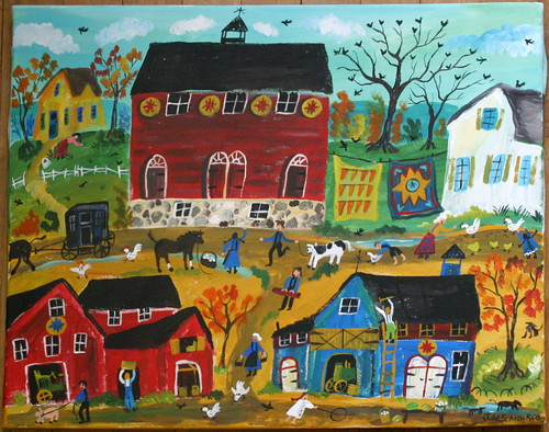 title  amish life 16 x 20