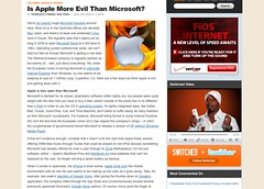 Is Apple More Evil Than Microsoft