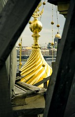 spyglass (filchist) Tags: roof st gold cathedral isaac petersburg x cupola 2009   kupola