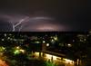 Lightning over Midtown Tulsa (dsjeffries) Tags: storm weather night clouds nightshot flash thunderstorm lightning tulsa lightningbolt tulsaoklahoma uticasquare stormnight midtowntulsa tulsaatnight oklahomastorm lightningovermidtowntulsa tulsalightning urbanlightning
