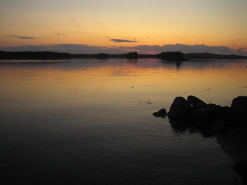 el lago (noche ártica)
