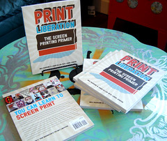 Print Liberation- The Screen Print Primer (jeffclaassen) Tags: art ink print book diy screenprint tools shirts howto silkscreen posters doityourself howtobook silkscreenprinting howtoscreenprint printhistory