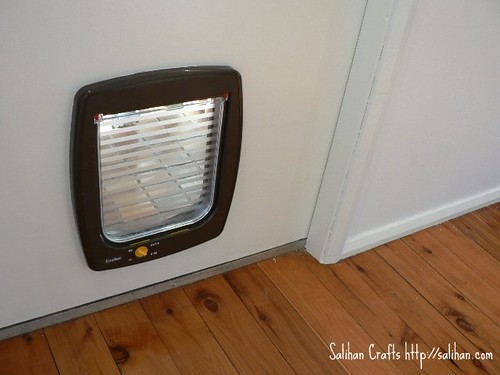 New Cat Door