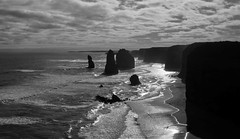 Classic B& W (Kamalpreet S. Sawhney) Tags: ocean road blue sunset sea cliff white mist cold water colors beautiful fog clouds sunrise dark relax fun gold dawn golden sand bath rocks aqua warm surf waves colours riverside bright god cloudy dusk great aquamarine overcast sunny australia melbourne bluesky victoria lookout calm desperate cotton enjoy serenity cape serene lonely aussie greatoceanroad twelveapostles bliss amen gettogether shimmer depressing dayout endless mountainrange breakingwaves lookoutpoint sunbehindtheclouds thetwelveapostles denseclouds providencephotos wwwprovidencephotosin