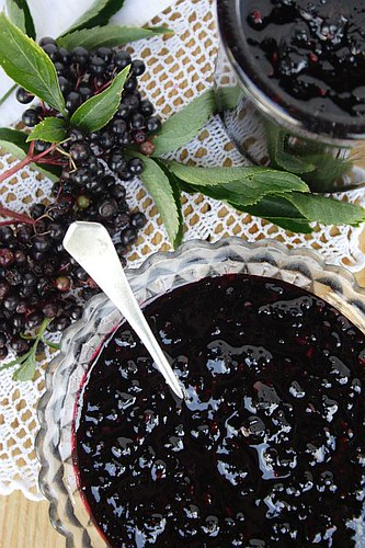 Elderberry Jam - Palachinka
