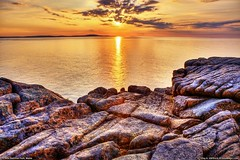 Acadia National Park Sunrise (Greg from Maine) Tags: ocean sky seascape sunrise landscape coast barharbormaine hdr acadia barharbor mountdesertisland schoodic acadianationalpark schoodicpoint rockycoast rockycoastline schoodicpeninsula ottercliff schoodichead hdraward