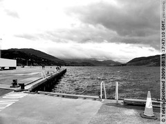Ullapool pier looking out