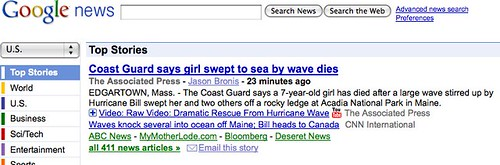 Google News - aggregator