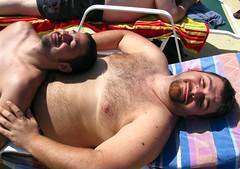 IMG_0940B (bucksboy) Tags: bear gay hairy beard goatee cub provincetown massachusetts ptown 2009 unshaven scruff hairychest crownandanchor bearweek gaybear ptownbearweek bearweek2009 ptownbear