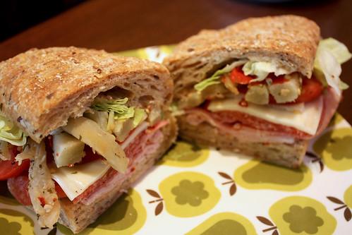 Italian Trio Sandwich