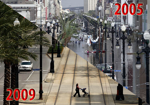 New Orleans Now and Then