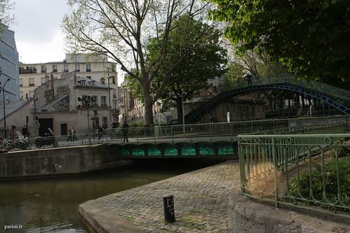 Pont mobile du Canal Saint-Martin