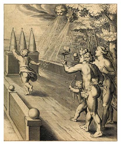 005- El fruto es la gloria del trabajo- Teatro moral de la vida humana1612- Otto Vaenius