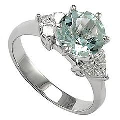 18k_white_gold_aquamarine_diamond_engagement_ring by JonasDiaz