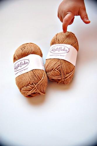 Knit Picks organic cotton sport