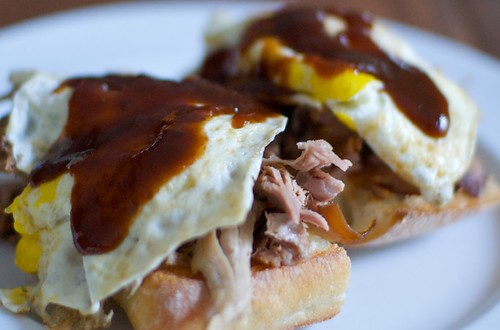 Pulled Pork Breakfast