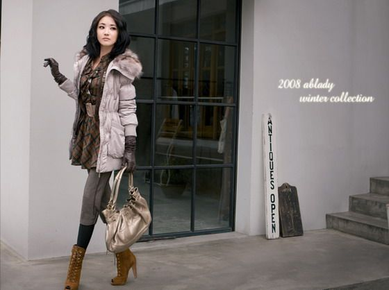 Choi Jung Won (최정원) – 2008 Ablady Winter Collection - beautiful girls