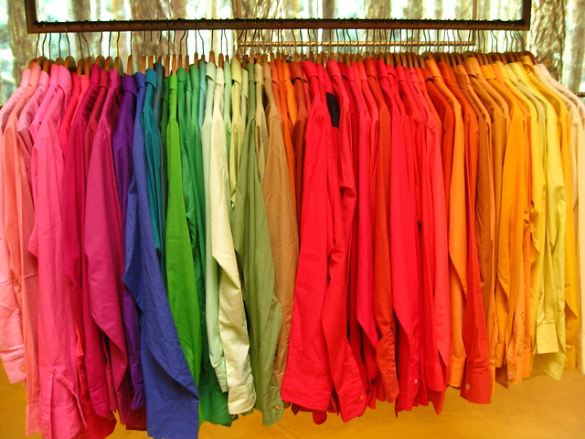 Shirts in yummy colours