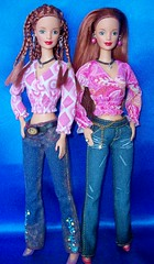 rose  and  renee (napudollworld) Tags: girls sexy fashion asian barbie blond lea kayla articulated fever jointed