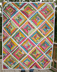 String Quilt front (Fresh Lemons : Faith) Tags: modern patchwork goodfolks annamariahorner stringquilt