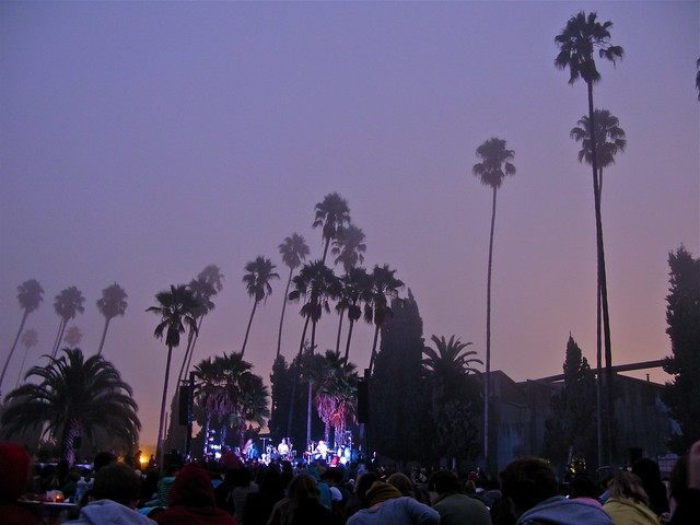 Bon Iver Sunrise Show at Hollywood Forever Cemetery