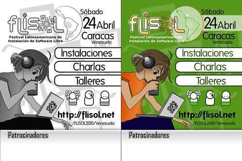 Flisol2010: Test 1 Afiches