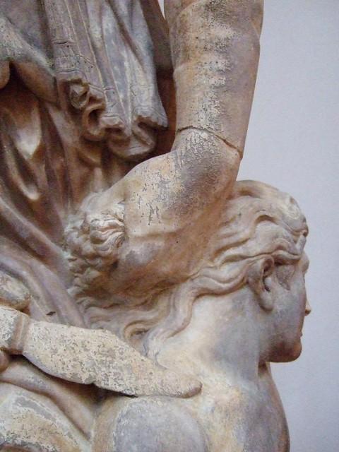 Firenze, Duomo Museum: Abraham & Isaac detail by jrclarke