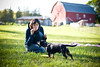 Yulka, Finn  and soap bubbles (36_frames) Tags: dog sun girl outdoors lifestyle naturallight sunny finn bethlehem cutegirl sunnyday soapbubbles yulka