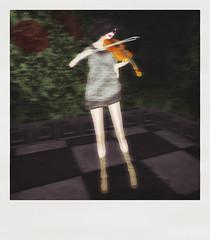 Ghost violin player (dagmar haiku) Tags: life woman fashion socks shirt club women style sl gifts secondlife gift second styles unisex fee freebie