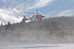 HH-60 (MJ Morris) Tags: rescue alaska search demonstration swimmer kodiak uscg crabfest hh60