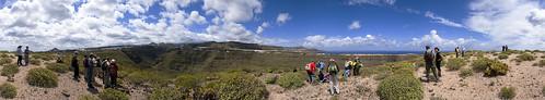Excursión arqueológica en Firgas. Isla de Gran Canaria