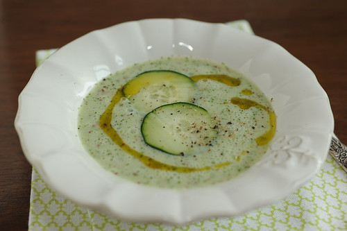 cucumber buttermilk soup