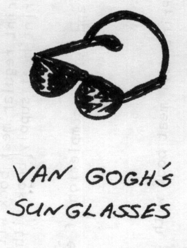 Van Goghs sunglasses