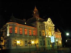 Zrenjanin, Serbia (Bayubadu) Tags: travel architecture night facade fun europe nightshot cityhall serbia vojvodina srbija banat otw zrenjanin mycameraneverlies artofatmosphere bayubadu