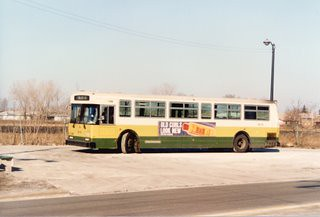 Eddie S Rail Fan Page Cta 1983 Canadian Flyer Bus At The