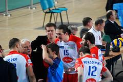 Delecta Bydgoszcz - ZAKSA Kdzierzyn Kole (maciaz91) Tags: break tie poland plus volleyball bydgoszcz liga bks chemik uczniczka nikond80 kdzierzyn delecta zaksa kole