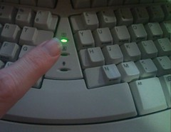 Finger on the NumLock - 271/365