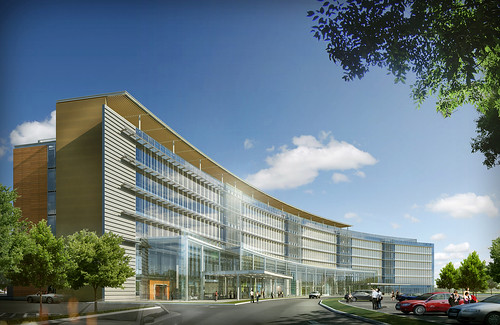 The RMJM/HOK-designed University Medical Center of Princeton at Plainsboro