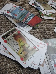 Story telling playing cards at BookCamp 09